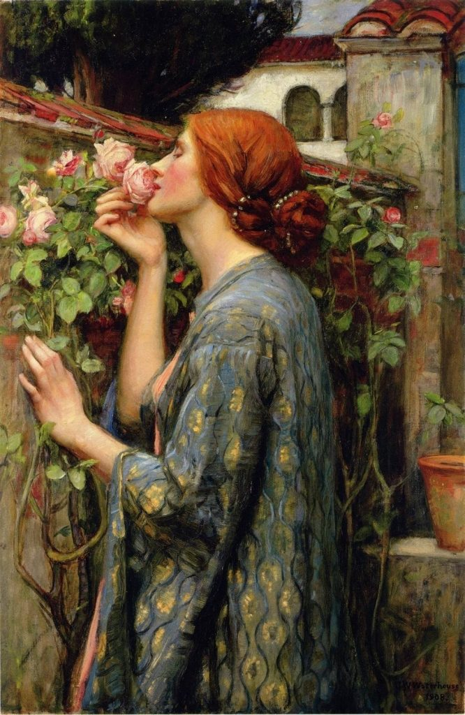 John_William_Waterhouse_-_The_Soul_of_the_Rose,_1903 WEB